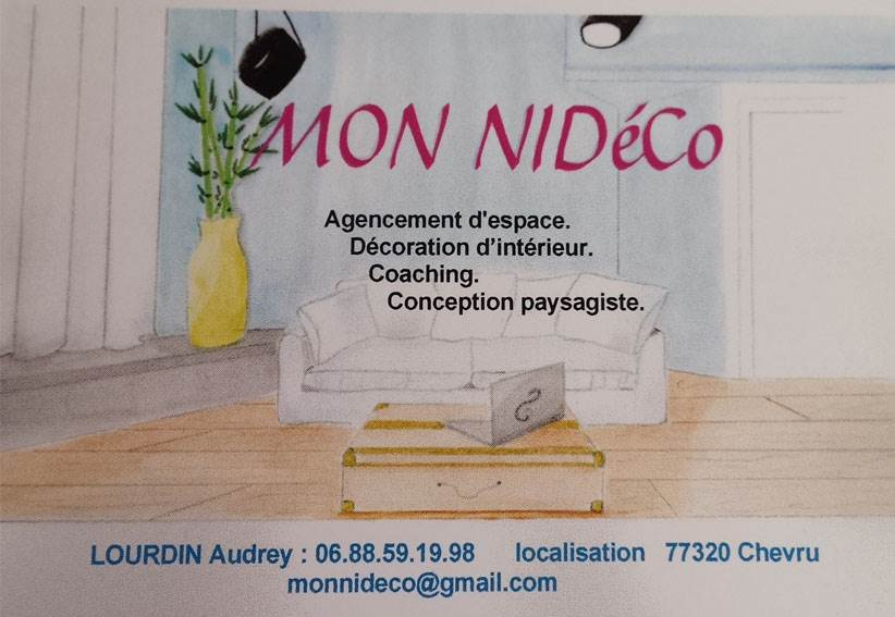 Carte Visite Audrey Decoratrice